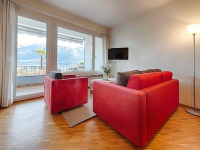 Photo for Apartment in the center of Ascona with Lift, Parking, Internet, Balcony (50641)