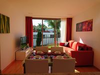 The apartment is clean, comfortable and well stocked. Very convenient to find and has a parking.