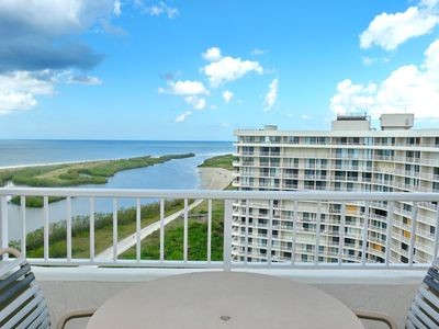 Photo for Beachfront penthouse w/ spectacular views & heated pool