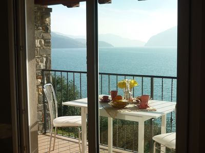 Photo for New apartment with 2 bedrooms, a balcony with a magnificent view of the lake
