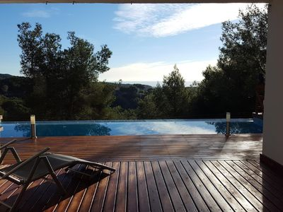 Photo for Suitur Mediterranean villa with infinity pool