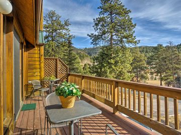 Genial 2BR Woodland Park Home W/Pikes Peak View