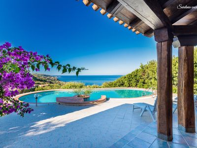 Photo for Villa Sa Laddera : private pool and seaview