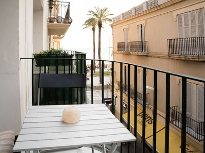 Photo for Ferran - Studio in SITGES Balcony and SEA View