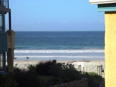 Photo for Self-catering 5-sleeper beach-front duplex apartment (Hout Bay, Cape Town)