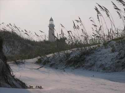 Ponce Inlet Skyline from the beach. Tallest lighthouse in Florida!!