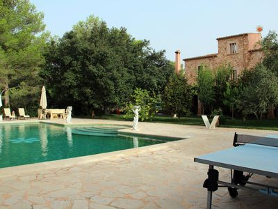 "Photo for Stunning Holiday Home ""Finca Sespiga"" with Wi-Fi, Garden, Balcony, Terraces & Pool; Parking Available"