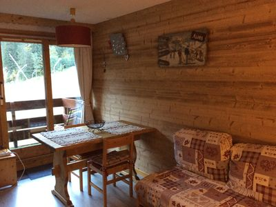 Photo for APARTMENT 4 people in the heart of the slopes