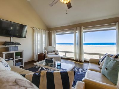 Photo for Head to the Beach From an Exquisite Oceanfront Home!