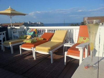 Photo for Oceanblock 4br Luxury Home W/ 4 Levels, Hot Tub & Amazing Views!