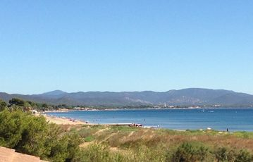Beach l'Ayguade, Hyeres, France