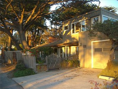 The 'Ultimate Beach House' located at the foot of Ocean Avenue.
