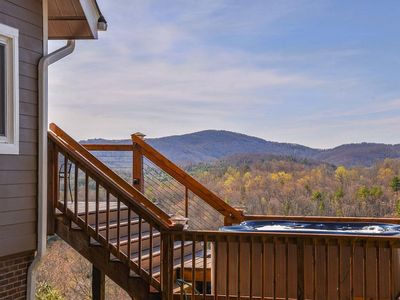 Photo for Amazing views from the HOT TUB, just 20 min to downtown Asheville. Biltmore pass included!