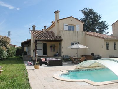 Photo for House 5 bedrooms with large pool and garden