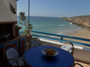 Apartment in small residence feet in the water in Taghazout