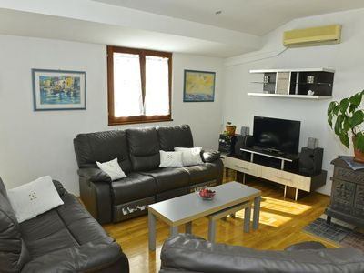 Photo for Two bedroom apartment with balcony and sea view Opatija