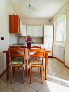 Photo for Cozy apartment with private garden in RIVA DEL GARDA - 1 KM from the center