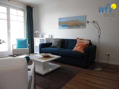 Photo for Modern apartment with balcony in the idyllic Baltic Sea Binz on Rügen!