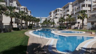 Photo for Luxury sea - mountain view penthouse apartment in Denia