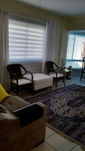 Photo for GREAT FRONT APARTMENT, WITH 3 DORMITORIES A FEW METERS FROM THE SEA