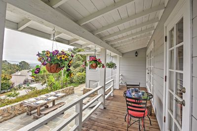 Elevate your Aptos experience when you stay in this beautiful vacation rental cottage.