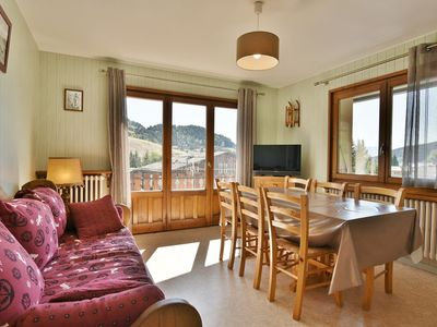 Photo for Apartment in the center of Chinaillon, open view on the slopes, 6 people, 2 bedrooms!