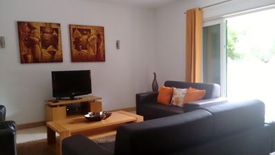 Photo for X Large 5* 2 Dble Bed Apt. Slps 6+baby. V. well equipped. AirCon.Wifi 5mins town