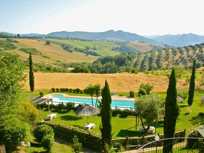 Photo for Farmhouse in Tuscany with pool near the sea Volterra Siena Pisa Florence