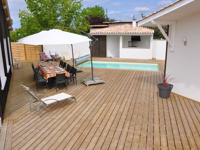Photo for 2 typical villas of the arcachon basin up to 14 people