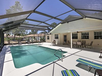 Photo for Palm Coast Home w/ Private Pool Near Golf Course!