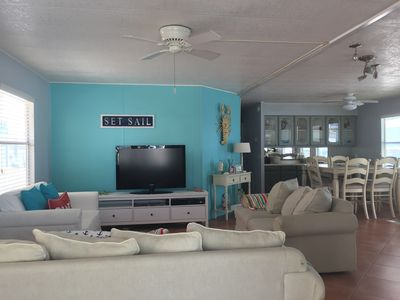 Photo for Key Largo Serene Waterfront Home -Ocean Access, Kayaks, Paddle Boards, Golf Cart