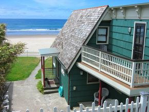 Historic Oceanfront Home - Restored historical home in Lincoln City.