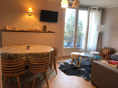 Photo for pretty apartment f3 / 4 of 65m ² all renovated with garage and shuttle nearby