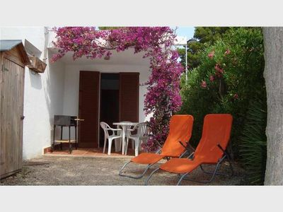 Photo for Maisonette with garden, terrace and barbecue 350m from the sea in Calafat