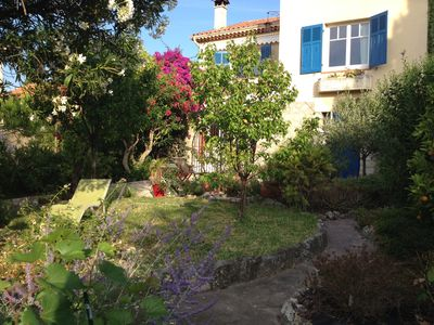 Photo for charming house - all amenities - rods and beaches 10 minutes by bus