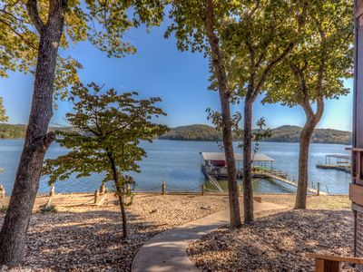 Photo for SPECIAL Pricing 8/13-8/27 $700 night, Family Fun Lake Front #8, Log Home