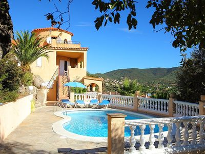 Photo for Apartment in the center of Calonge with Parking, Internet, Washing machine, Pool (88603)