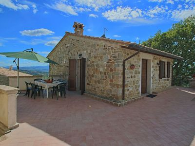 Photo for Quaint Cottage in Collazzone with Swimming Pool