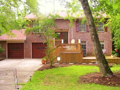 Photo for The Tree House - Comfy Home - Prime Location - Close to Everything Woodlands!