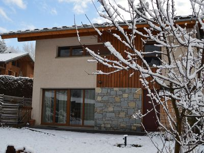 Photo for Bourg Saint Maurice: 4-br home with garden close to downtown Bourg-Saint-Maurice and Les Arcs ski resort