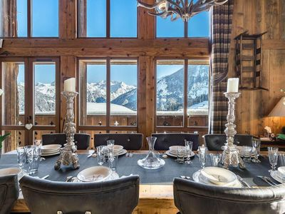 Photo for Chalet Alpette: Caracter and superb chalet in Courchevel Village