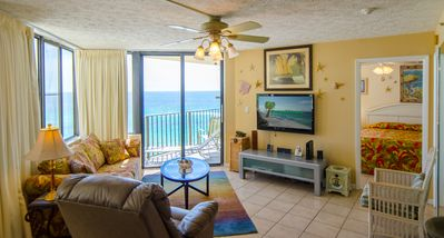 "Welcome to ""Captain's Cove!"" Sunbird 908W.  Incredible beachfront one bedroom, one bath, sleeps 4.  Free dedicated wi-fi provided for this condo."