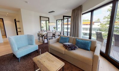 Photo for Super chic luxury apartment in a prime location, 3. Floor with sea view
