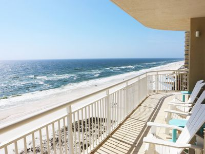 Photo for AMAZING PANORAMIC GULF VIEWS! One condo per floor, 4 BEDROOMS/4.5 BATHS, 4000sft