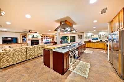Luxury Stainless Steel Appliances and Granite Counters