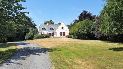 Photo for At St. Alban (22) Breton house 3km sea in a park of 6. 000m2