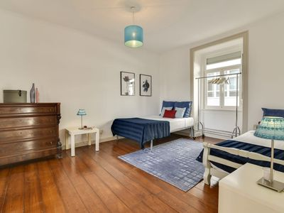 Photo for 2 bedrooms in the heart of Lisbon's nightlife