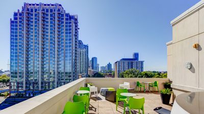 Stunning rooftop terrace with breathtaking view to downtown/uptown Charlotte!