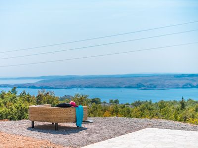 Photo for Villa Vicka with Panoramic View on Island of Rab