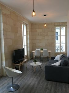 Photo for Very nice renovated apartment in stone building